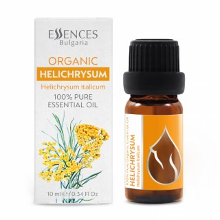 Organic Helichrysum - 100% pure and natural essential oil (10ml)