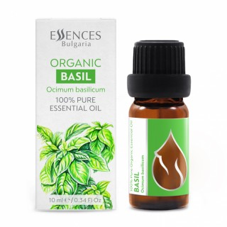 Organic Basil - 100% pure and natural essential oil (10ml)