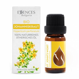 Organic St. John's Wort - 100% pure and natural esssential oil (10ml)