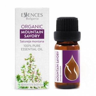 Organic Mountain Savory - 100% pure and natural essential oil (10ml)