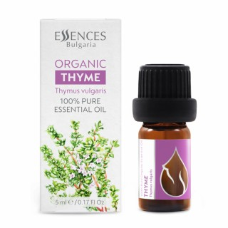 Organic Thyme - 100% pure and natural essential oil (5ml)