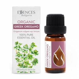Organic Greek Oregano - 100% pure and natural essential oil (10ml)