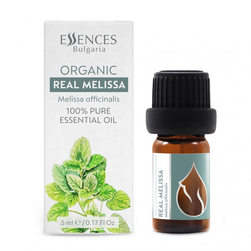 Organic Lemon Balm - 100% pure and natural essential oil (5ml)