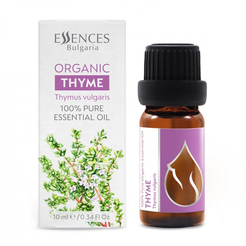Organic Thyme - 100% pure and natural essential oil (10ml)