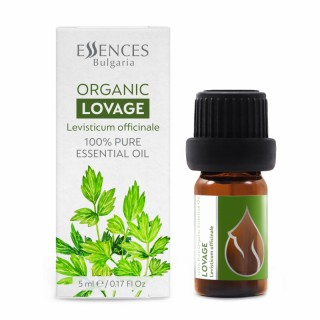 Organic Lovage - 100% pure and natural essential oil (5ml)