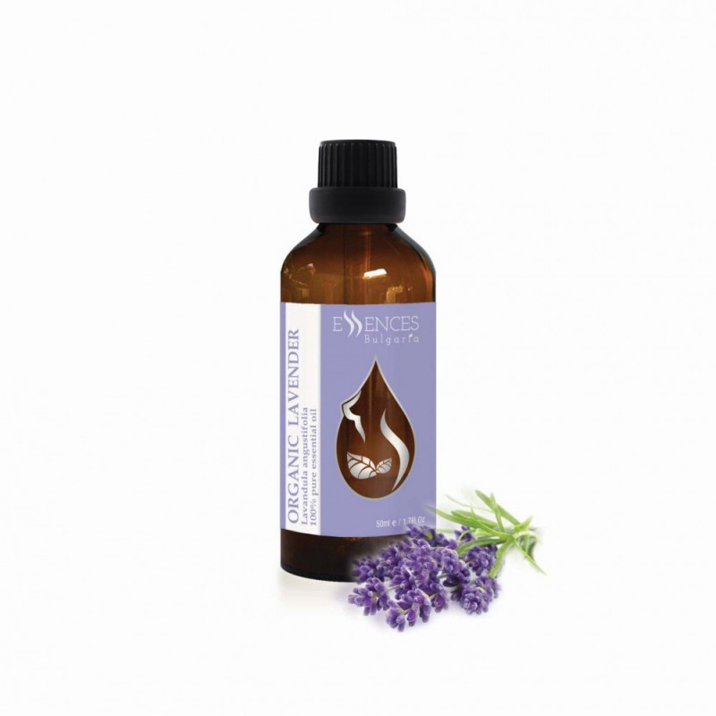 Organic Lavender - 100% pure and natural essential oil (50ml)