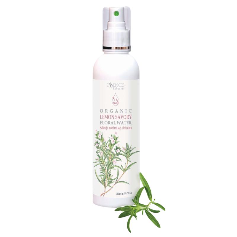 Organic Lemon Savory Floral Water - 100% pure and natural (250ml)
