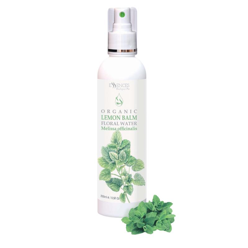 Organic Lemon Balm Floral Water - 100% pure and natural (250ml)